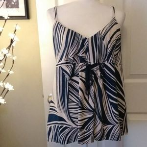 TOMMY BAHAMA loose tank blouse.  Size XL